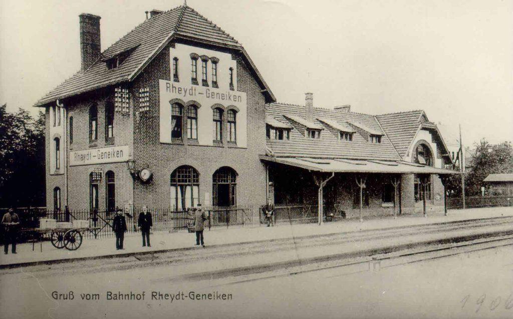Der historische Bahnhof Rheydt-Geneiken